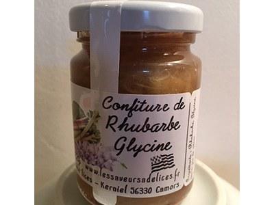 CONFITURE RHUBARBE GLYCINE