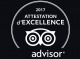 ATTESTATIO D EXCELLENCE TRIPADVISOR