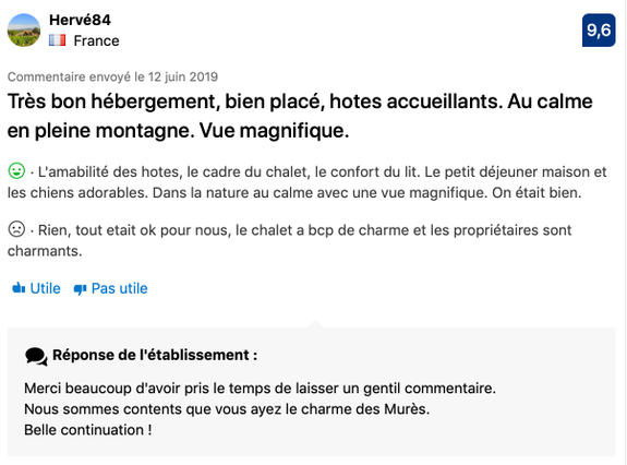 Commentaire Booking 6