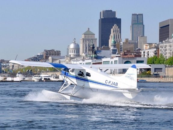 Hydravion à Montreal