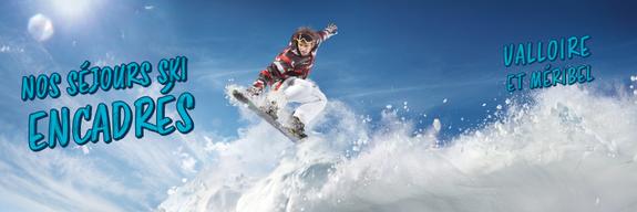 séjours ski encadrés ussim -vacances