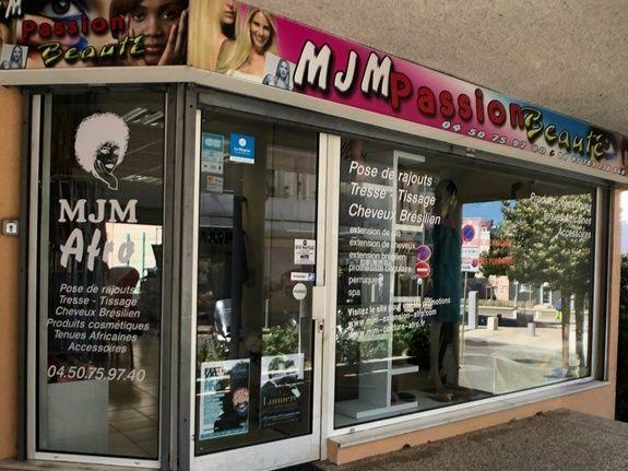 Salon de coiffure - extérieur