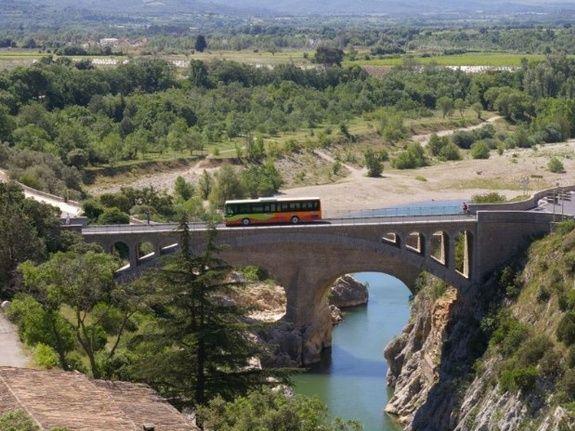 Site pont du diable vallée Hérault