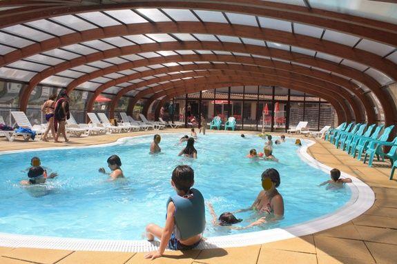piscine extérieur couverte chauffée drome