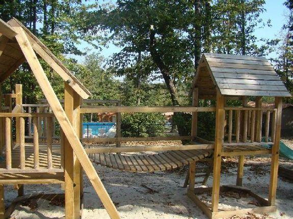 parc chalet bois location brossac sud charente