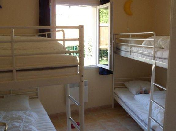 Bunkbed room samare etang vallier brossac