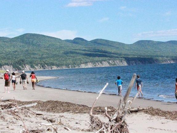 Chalet à louer Bord de la Baie Gaspé, Forillon