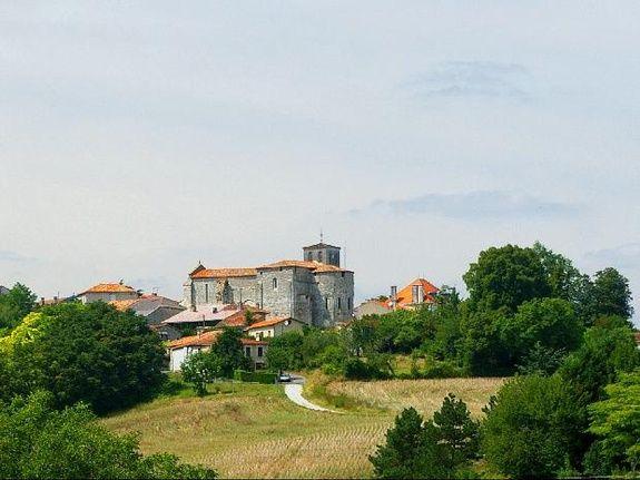 Brossac South Charente France Etang Vallier