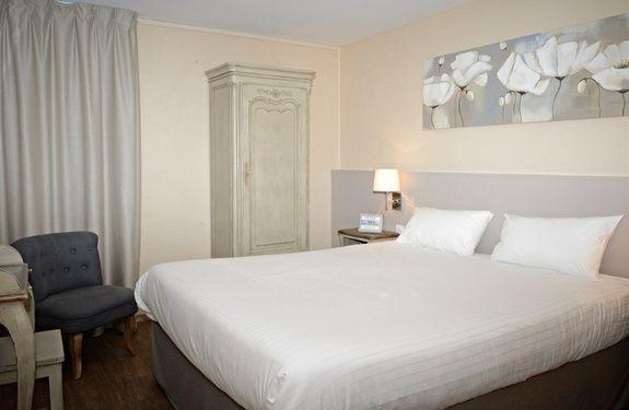 chambre-double-hotel eden park - normandie - pont l'eveque