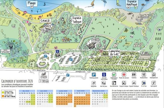 Plan activités Rouen