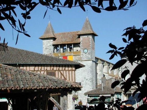 Bastide de Villeréal ©CDT47chambres d'hôtes - maison d'hôtes de charme - perigord -dordogne - lot et garonne-villereal -monflanquin