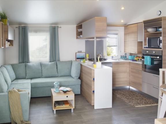 intérieur mobil home résidentiel
