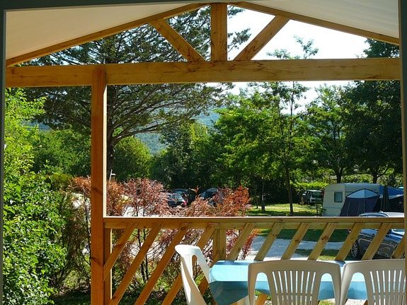 CAMPING NOTRE DAME MOBIL HOME LOGGIA BAY