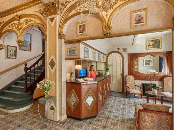 Réception hotel Blois centre