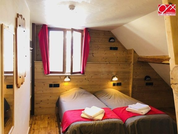 chambre double - auberge -Valloire