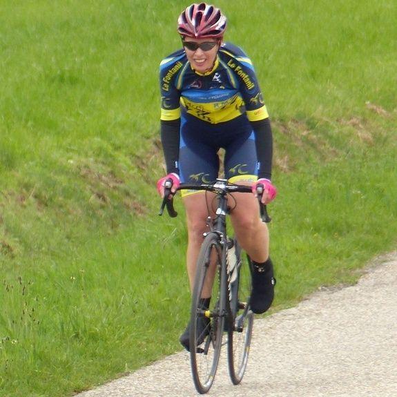 Virginie - Valloire - Cyclo