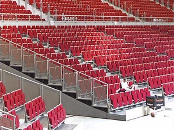 tribune salle sport concert
