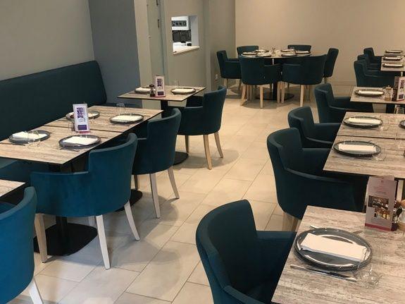 Salle restaurant Le Sennecey