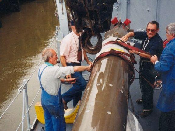 installation torpille