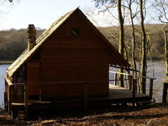 Cabane de l'Engoulevent extérieur