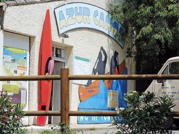 Entrée Azur Canoes