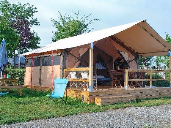 camping Le Clapas lodgetent Victoria