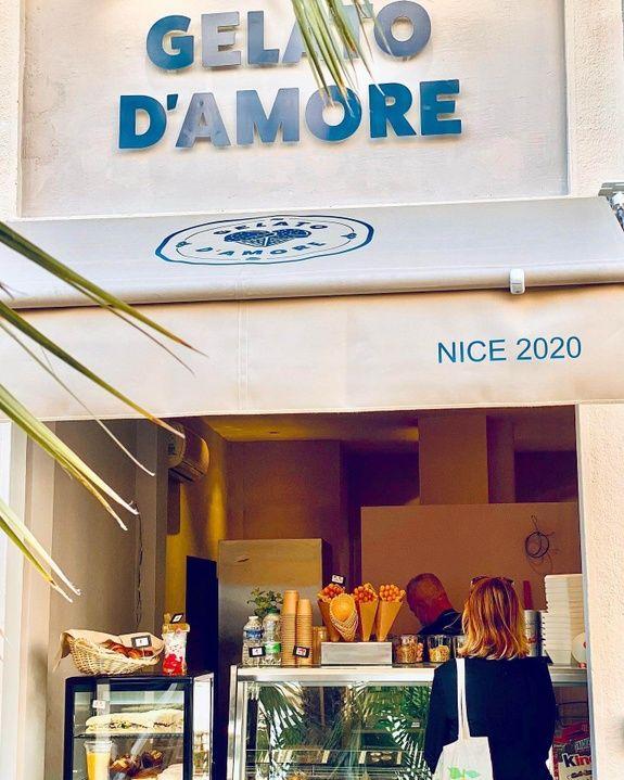 Gelato D'Amore - glacier à Nice10