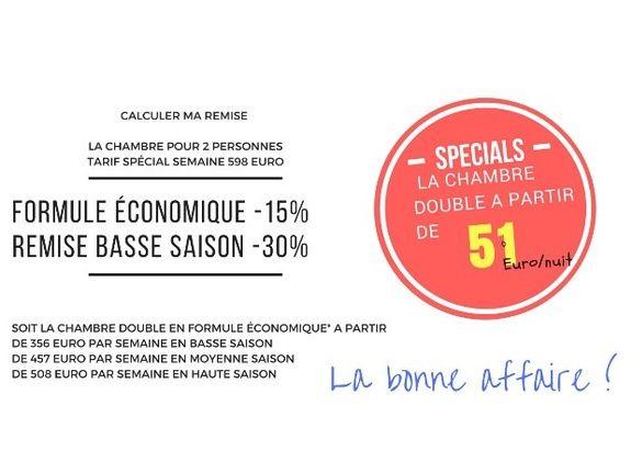 chambres-d-hotes-a-Saint-Raphael-Frejus-formule-économique
