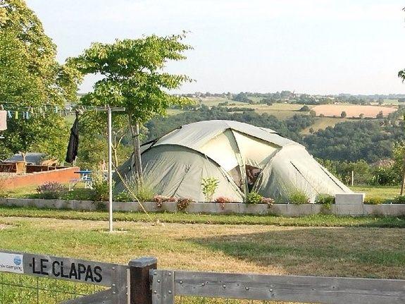 camping Le Clapas campsite