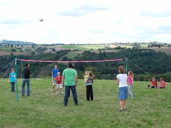 camping Le Clapas, Volleyball