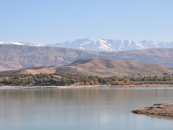 lac takerkoust - riad chamali - marrakech - maroc