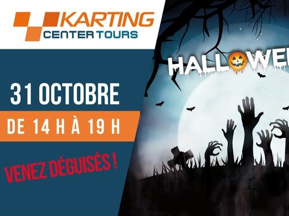 HALLOWEEN AU KARTINGCENTER TOURS