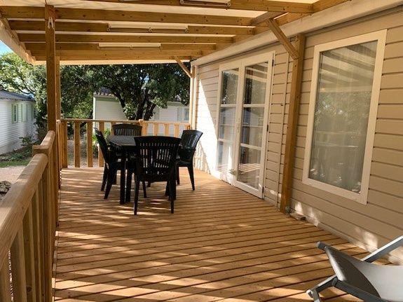 loggia confort + ext camping piscine familial proche ardeche
