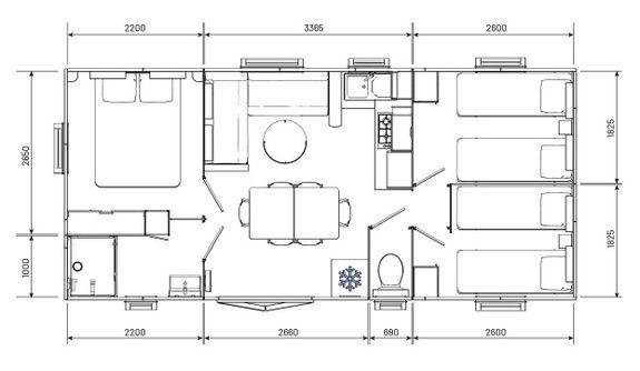 Espace Premium - plan camping familial piscine fayence var provence