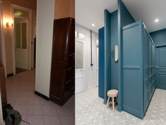 Renovation appartement et maison Lyon COULOIR