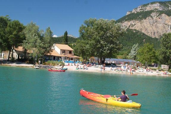 Canoë lac bleu