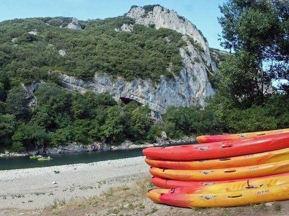 canoë-kayak camping Ardèche