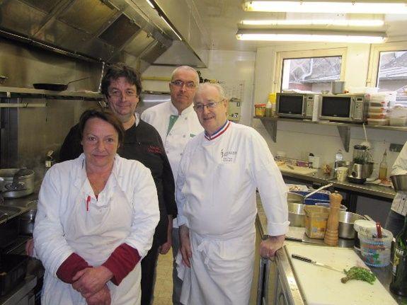 La Brigade -Cuisine -Restaurant- Le Cochon d'or Beuzeville