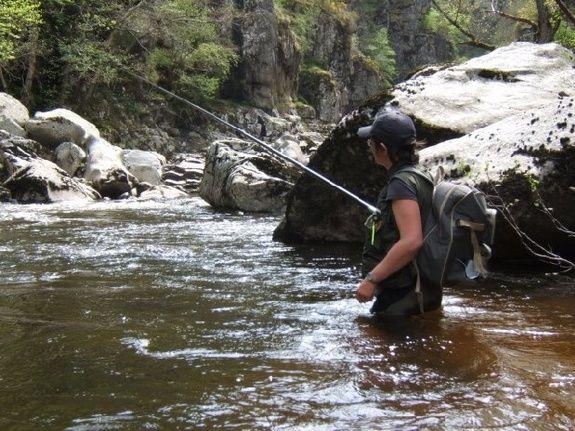 camping Le Clapas, Angeln in den Flüssen