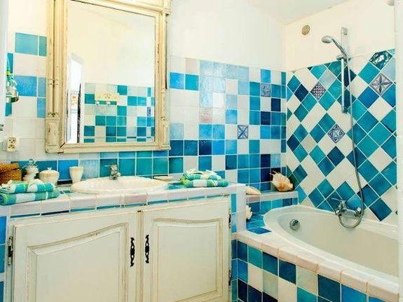 salle de bain-chambre d'hôtes le pigeonnier