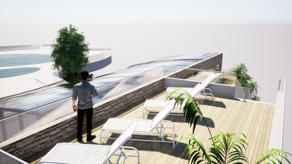Acces toit projet piscine 2021 (2)