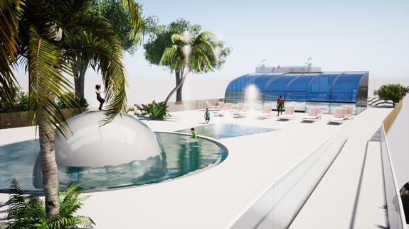 Vue exterieur Projet piscine 2021 (3)