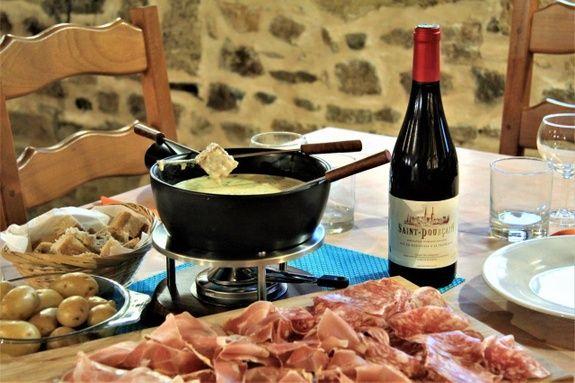 Fondue aux fromages d'Auvergne