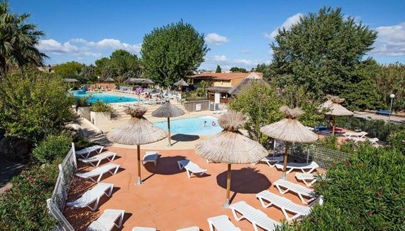 piscine camping meze beau rivage