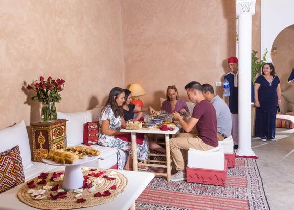 riad chamali medina repas traditionnel
