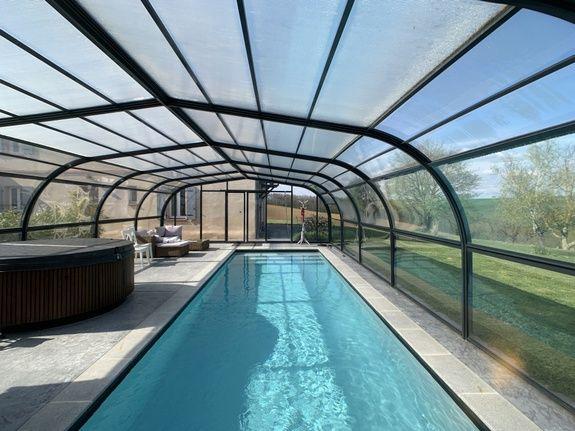 piscine en long