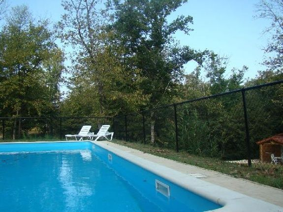 Pool Piscine Chalet Clairiere Brossac Charente