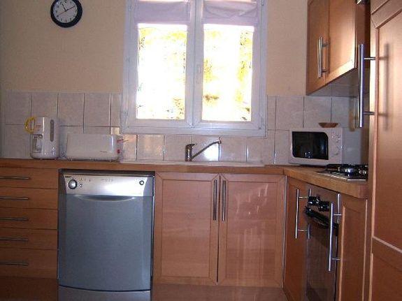 kitchen villa deluxe etang vallier resort brossac