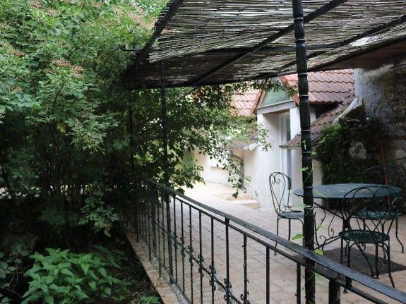 Terrasse arrière