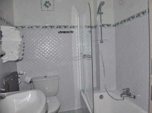 Chambre de Charme Hotel du Soleil Aussois Salle de Bain